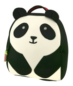 Dabbawalla Bags Preschool & Toddler Panda Backpack, Black/White