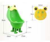 Glamorway Stand & Wall Type Kid Potty Toilet Bathroom Training Urinal for Boy Pee Trainer