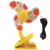 Alytimes Baby Clip-On Mini Stroller Fan Cute Crib Cooling Fans