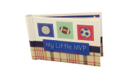 "Baby Photo Album 4 x 6 Brag Book ""My Little MVP"" - Boy / Girl Baby Shower Gifts, - Holds 24 Precious Photos, Acid-free Pages"