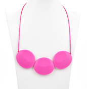 Teething Necklace for Mom by Bambini & Me, Food-Grade, BPA-Free Silicone Baby Teething-Necklace Keeps Your Baby Happy -Soothes Aching Gums Naturally, Fun Gift Idea for Mom ...