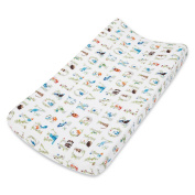 aden + anais Classic Changing Pad Cover, Paper Tales