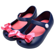 ZEARO Girls First Walker/Toddler Quilted Bow Mary Jane Shoes