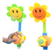 HenMerry Sunflower Baby Bath Toys Shower Spray Bath Play Toys