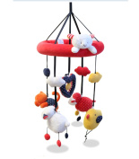 Baby Crib Dreams Mobile, Animal pals