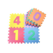 HXSS Number Floor Mats Puzzles for Kids 30CM