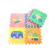 HXSS Vehicle Floor Mats Puzzles for Kids 30CM