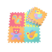 HXSS Animal Floor Mats Puzzles for Kids 30CM