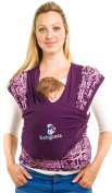 Keep Your Infant Calm & Stay Hands Free - Stylish Multifunctional Baby Carrier Sling - Wrap Suitable for Newborns to Toddlers - Soft & Sleek Organic Cotton - Use As a Nursing Cover for Privacy - Ideal for Breastfeeding & Aids Balance - Perfect Baby Sho ..