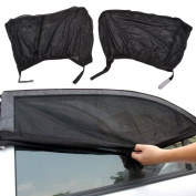 2pcs Car Window Shade Sun Cover Van Camper Sun Protecter For Baby Kids Pets