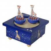 Sophie La Girafe Milky Way Spinning Music Box by Trousselier