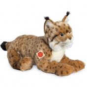 Lying Lynx Plush Soft Toy by Teddy Hermann.45cm. 90467
