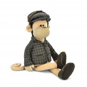 Orange Toys 5007/25 - Monkey Sherlock Collection Life, 35 cm, beige/brown
