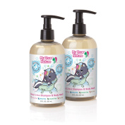 My True Nature Daisy's 2-in-1 Shampoo/Body Wash, Unscented, 350ml, 2 Count