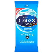 Carex Refreshing Wipes 15 per pack