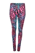 Oops Outlet Ladies 3d Graphic Colourful Print Womens Stretchy Leggings Pant Yoga Gym Funky