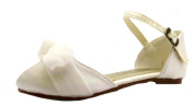 Chatterbox Girl's Lacy Satin Formal Shoes