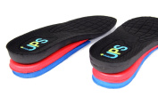HealthPanion 1 Pair of UPS Adjustable Air Cushion Height Increasing Insoles - 2 to 4 cm
