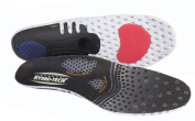 Pro11 Hydro-Tech Sports Orthotic Insoles with Dual layer Impact shell absorber and Metatarsal Support System