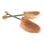 logei® 1 pair shammah wood Shoe stretcher Mens size
