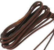 eCobbler 150Cm Quality Leather Boot Or Shoe Laces In Black Or Brown