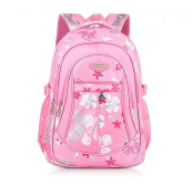 belababy Fasion Girl Backpack For Children Butterfly School Backpacks