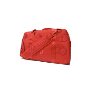 Sprayground Red Patch Army Duffle Bag
