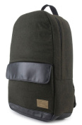 HX1840-OVBK Echo Backpack in Stinson Olive and Black