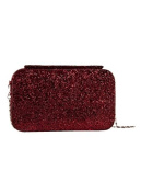 Shimmery Rectangular Clutch by The Purple Sack