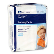 Curity Toddler Pull-On Training Pants for Boys, Size Extra Large - XL (Over 17.24kg), Pack/19