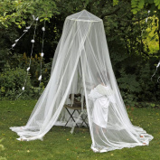 Mosquito Net - Keeps Away Insects & Flies - Perfect Use For Indoors And Outdoors - Playgrounds, Fits Most Size Beds, Cribs - Conical Design, Including Hanging Parts and a FREE Carry Bag To Carry Along