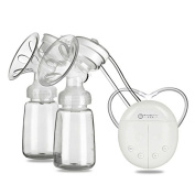 GDS Automatic double electric breast pump maternal milk-pump suction massage pultruded