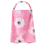 WayIn® Colourful Breast Feeding Nursing Cover with Pink Flowers