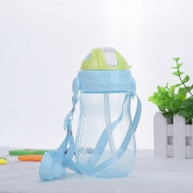 Baby Kids Children BBQ Picnic Trip Drinking water Straw Cup training cup bottle 350ml