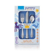 Amefa Splash 3pc Stainless Steel Kids Cutlery Set