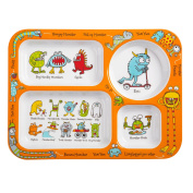 Tyrrell Katz Monsters Design Melamine Compartment Tray