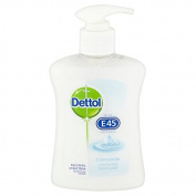 Dettol with E45 Hand Wash Soap 250ml