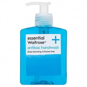 Antibacterial Handwash essential Waitrose 250ml