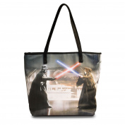 Star Wars Darth Vader & Obi Wan Bag Women Shopper by Loungefly Black