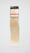 1 st Lady Silky Straight Natural European Weft Human Hair Extension with Premium Blend Weave, Snow White, 36cm