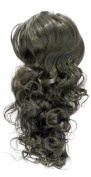 JM Fashion Supply Voluminous Hair Piece Ponytail Bun () Thickening Hair Wavy Wig