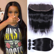 "Puddinghair Grade 7A Brazilian Human Hair Full Lace Wigs With Baby Hair Bundles With Closure,Straight 3 Bundles With 13*4 Human Hair Lace Front Wigs24""26""28""+Closure18"""