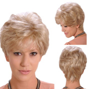 Hrph 30CM New Fashion Sexy Short Fluffy Natural Curl Full Wig Women\'s Cosplay Wigs Girl Gift