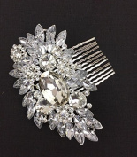 Diamond Bridal Hair Clip by Lizzy®
