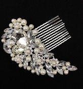 Diamond Bridal Hair Clip by Lizzy®