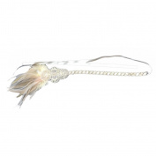 Bridal Feather Headband Flapper Costume Hairband Headpiece 1920's Fashion