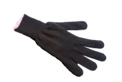 Luxury Mateque Heat Protection Glove For Hair Wands & Tongs with pink rim