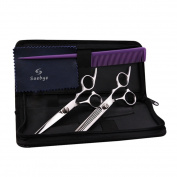Saebye Professional Hair Cutting Scissors Thinning Shears Set Perfect for Barbers, Salons, and Home Use