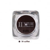 Biomaser PCD Tattoo Ink,15ml M-Coffee Square Bottles Pigment Professional Permanent Makeup Ink Supply For Eyebrow Lip Make up