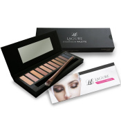 Eyeshadow Makeup Palette - Matte, Highly Pigmented Best For Smokey Eye Makeup - Comes with FREE Eyeshadow Brush